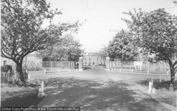 Photo of Linton On Ouse, RAF Main Gates c.1960