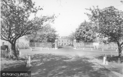 Linton-on-Ouse, RAF Main Gates c.1960