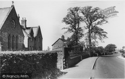 Linton-on-Ouse, The Church And Village c.1955