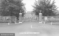 Linton-on-Ouse, The Main Gates, RAF Base c.1965