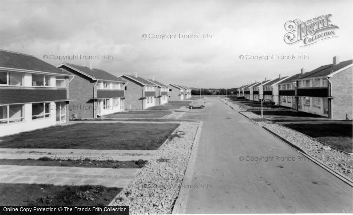 Photo of Linton On Ouse, The New Estate c.1965
