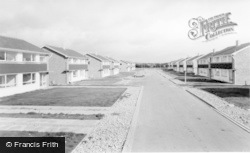 Linton-on-Ouse, The New Estate c.1965