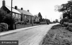 Linton-on-Ouse, The Village c.1960