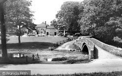 Packhorse Bridge And The Fountaine Inn c.1965, Linton
