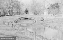 Packhorse Bridge c.1950, Linton