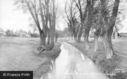 Linton, River Granta c.1960