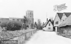 Linton, St Mary's Church And Guildhall c.1960