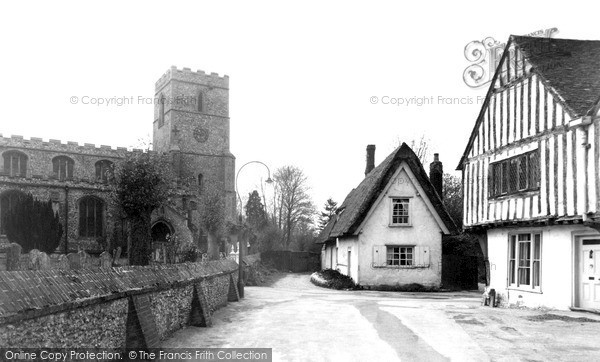 Photo of Linton, St Mary's Church c.1955