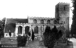 Linton, St Mary's Church c.1955