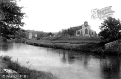 St Michael And All Saints' Church And River 1900, Linton
