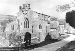 St Michael's Church c.1950, Linton