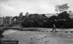 Stepping Stones And Low Mill c.1955, Linton