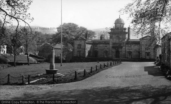 Photo of Linton, The Almshouses c.1955