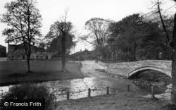 The Beck And Post Office c.1955, Linton