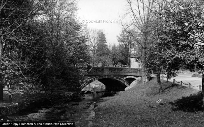Photo of Linton, The Bridge c.1955