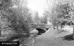 The Bridge c.1955, Linton