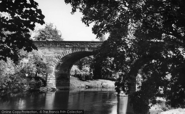 Photo of Linton, The Bridge c.1960