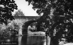 The Bridge c.1960, Linton