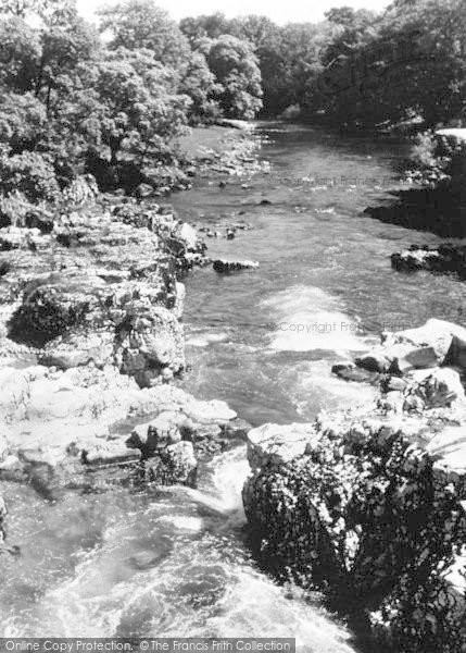 Photo of Linton, The Falls c.1950