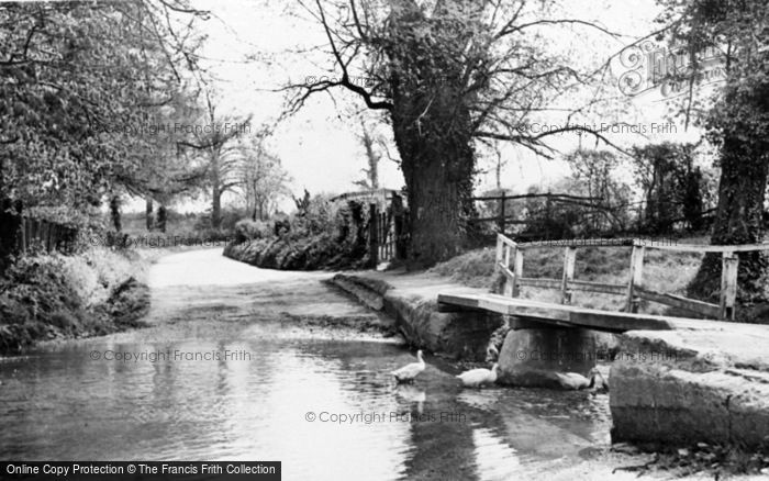 Photo of Linton, The Ford, Mill Lane c.1955
