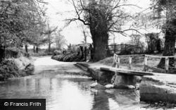 Linton, The Ford, Mill Lane c.1955
