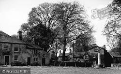The Fountaine Inn And Linton Hall c.1955, Linton