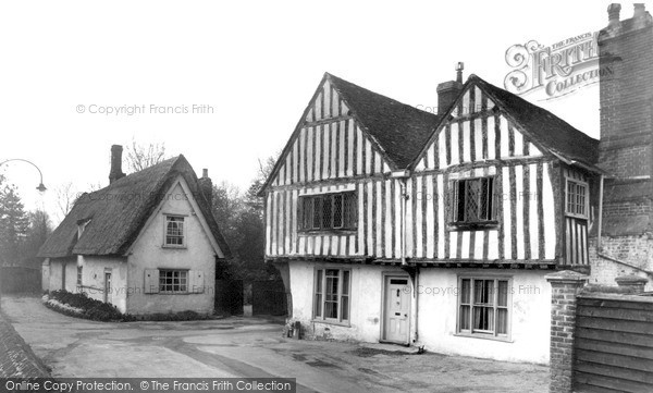 Photo of Linton, The Guildhall c.1955