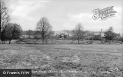 The Hospital, From Recreation Ground c.1955, Linton