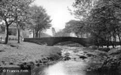 The Packhorse Bridge c.1955, Linton