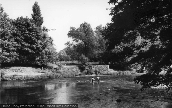 Photo of Linton, The River c.1960