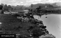 The River Wharfe c.1930, Linton