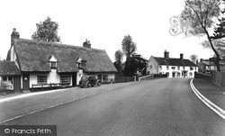 Linton, The Swan Bridge c.1955