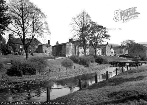 Photo of Linton, The Village c.1955