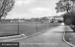 The Village College c.1955, Linton