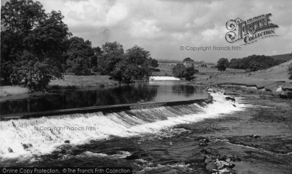 Photo of Linton, The Weirs c.1955