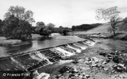 The Weirs c.1960, Linton