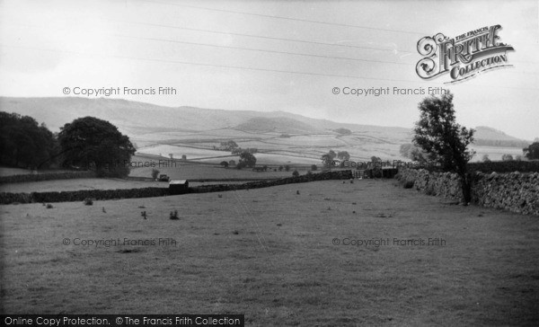 Photo of Linton, Thorpe Fell And Cracoe Fell c.1955