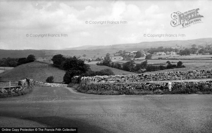 Photo of Linton, View From Great Bank Top c.1955
