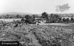 From Mount Hill c.1955, Linwood