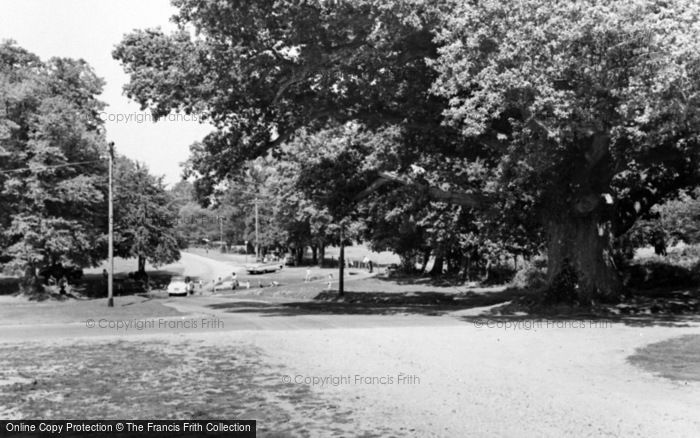 Photo of Linwood, Moyles Court Oak And Ford c.1965