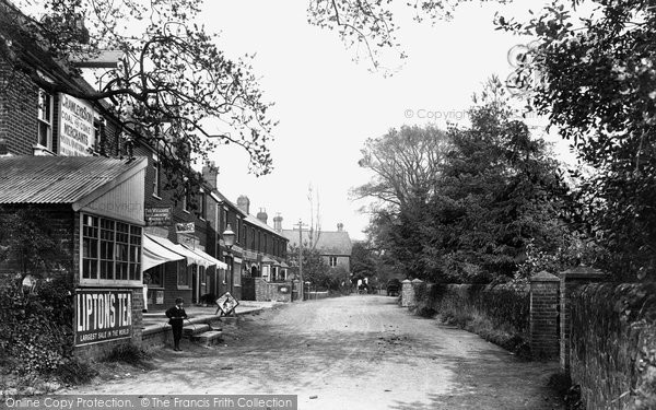 Photo of Liphook, New Town 1911