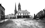 Lisburn, Market Square 1896