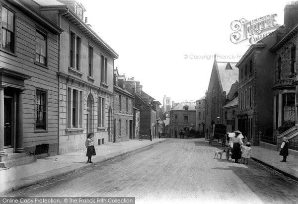 Photo of Liskeard, Dean Street 1906