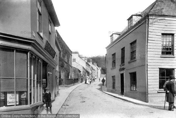 Photo of Liskeard, Higher Lux Street 1907