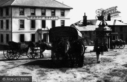 Liskeard, Horse Drawn Vehicles 1890