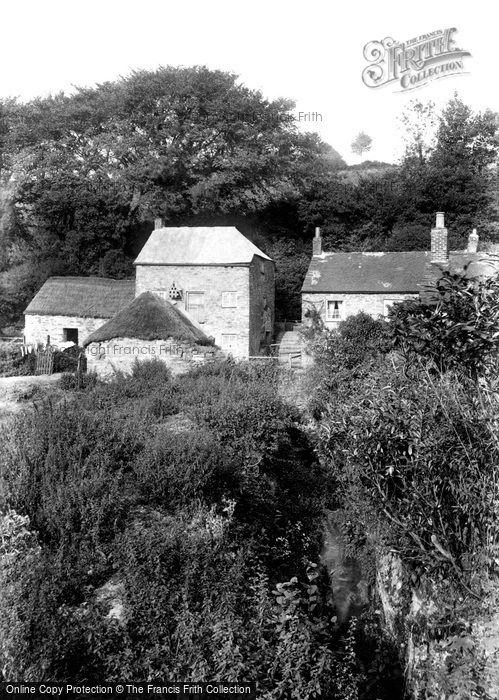 Liskeard,Lamellion Mill 1907,Cornwall