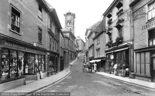 Liskeard Market Street 1906 Francis Frith