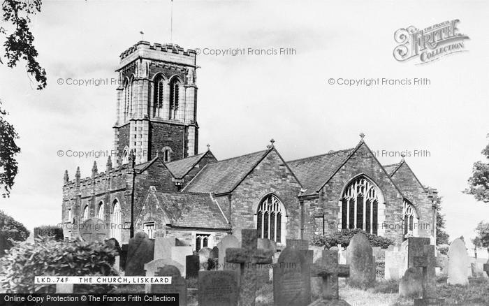 Photo of Liskeard, St Martin's Church c.1955