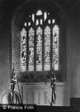 Liskeard, St Martin's Church War Memorial 1922