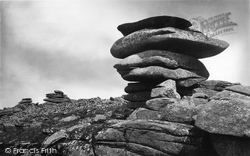 Liskeard, The Cheesewring And Other Rock Formations On Stowe's Hill, Bodmin Moor 1890